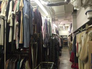 Costume storage room -Denver Center for Performing Arts